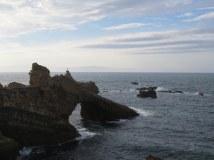 Biarritz coast