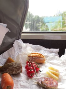 Bayonne delicacies for the train trip east